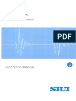 Smartor - Digital Ultrasonic Flaw Detector - Operation Guide (Siui)
