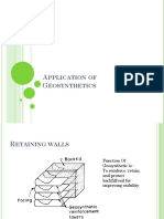 Application of Geo synthetics