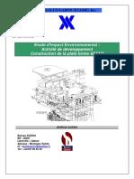 Etude d'Impact Environnemental plate forme.pdf