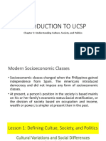 Introduction to Ucsp