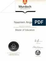 masters of education