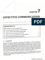 Unit 7 - Effective Communication