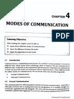Unit 3 - Modes of Communication