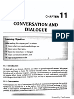 Unit 11 - Conversation and Dialogue
