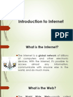 Internet Introduction