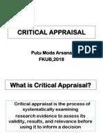 Critical Appraisal 2017 Ppt 2