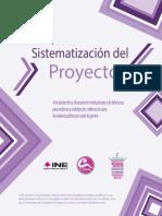 Sistematización del Proyecto Articulación de los observatorios institucionales y de defensoras para incidir en la visibilización y defensa de casos de violencia política por razón de género