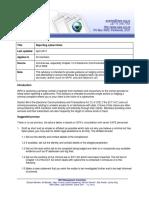 Advisory on Reporting Cybercrimes April 2013