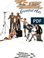 ZZ TOP- Greatest Hits.pdf