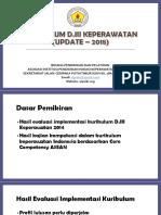 Kurikulum D3 Keperawatan Update 2018