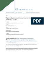 Agroecologia e Ciencia