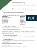 Cuestionario de Derecho Público y Derecho Privado Desarrollado
