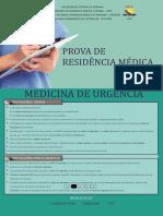 Caderno de Provas - Medicina de Urgncia - 2017