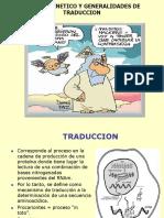 Clase Traduccion 1 (Codigo y Ribosomas)