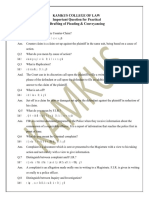 Drafting, Pleading & Conveyancing Imp Questions Bl-805