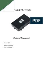 Wonde Proud TT1 Protocole