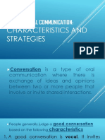 Effective Oral Communication