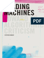 (Topics in the digital humanities) Ramsay, Stephen - Reading machines _ toward an algorithmic criticism-University of Illinois Press (2011).pdf