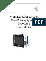 Nanojet User Manual 1208