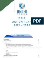 AMLED School DSIB Action Plan 2019-2020