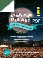 Programme de la Symphonie des arts à Strasbourg