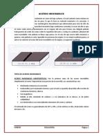 ACEROS INOXIDABLES- SOLDADURA