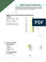 03.- Diseño Estructural Tanque Septico