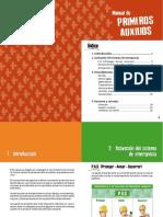 Manuales Prevención - Primero Auxilios Modificar