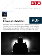 Cerco Aos Hackers - IsTOÉ Independente