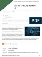 _Virus de bloqueo de archivos (Quitar + restaurar datos) - Cómo, Foro de Tecnología y Seguridad PC _ SensorsTechForum.com