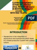 Recirculating Aquaponics Production Edited