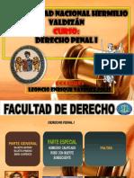 Derecho Penal Parte Especial I