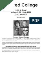 Merced College Catalog