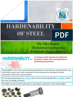 Hardenability of Steel