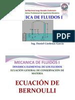 Ecuación General de La Energía - Perdidas de Energiadebidas a La Fricción