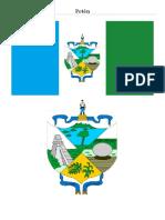 Bandera y Escudo de Los 22 Departamentos de Guatemala