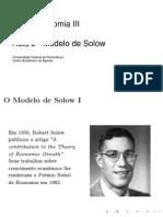 Modelo de solow