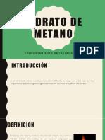 Hidrato de Metano