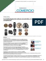 Las Simbologías de Culturas Ancestrales, En Una Compilación _ El Comercio