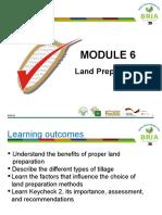 Module 6 Land Preparation Presentation