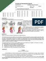 Avaliação Diagnóstica de Língua Inglesa - 6º Ano
