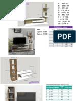 muebles variados