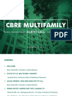 CBRE Multifamily Client Call - 112718