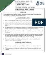 6-6 Stope Planning Procedure
