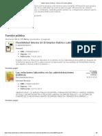 Atelier Libros Jurídicos - Libros de Función Pública