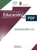 Síntesis Educación 4.0