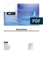 ANSYS Inc. Release Notes