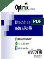 Deteccion de Fallas en Redes Mikrotik