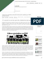 Coleccion de Libros de Administración Pública en PDF, Primer Tomo _ Arquetipo Educativo