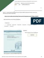 Libros de La Editorial Instituto Nacional de Administración Pública (INAP) · Marcial Pons Librero
